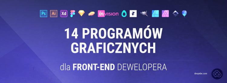 14 programów graficznych dla front-end developera